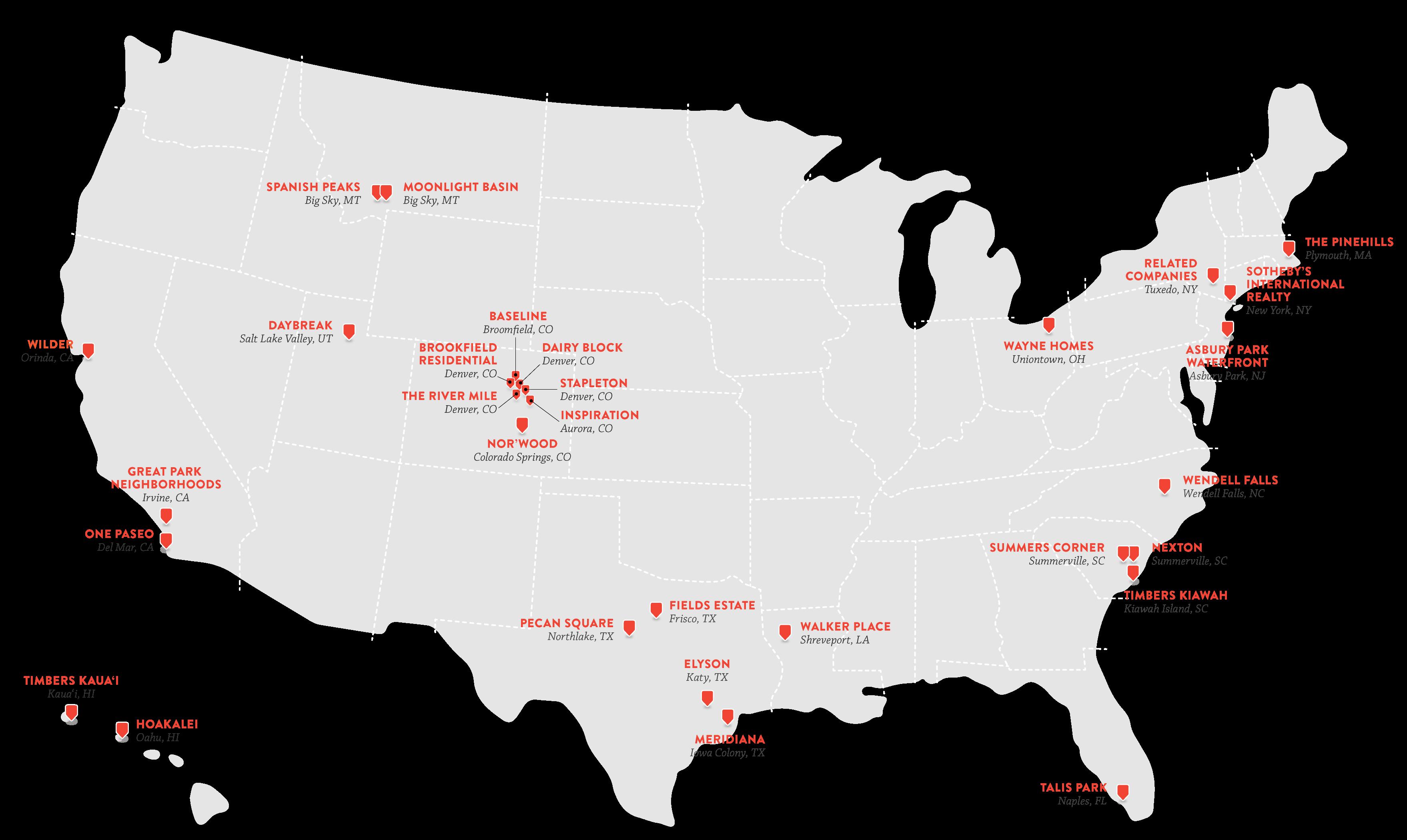 Strada Map