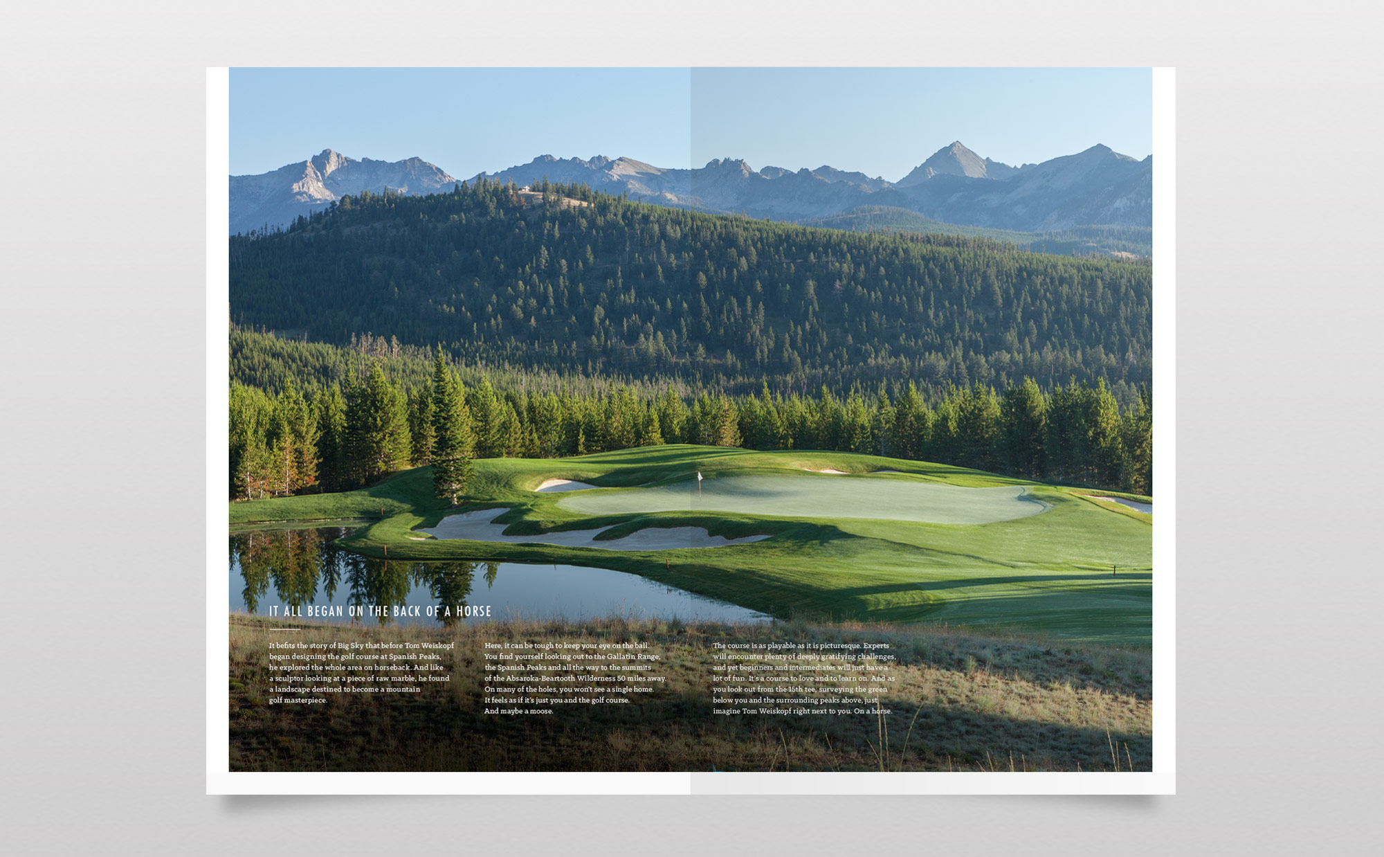Spanish Peaks Mountain Club Brochure