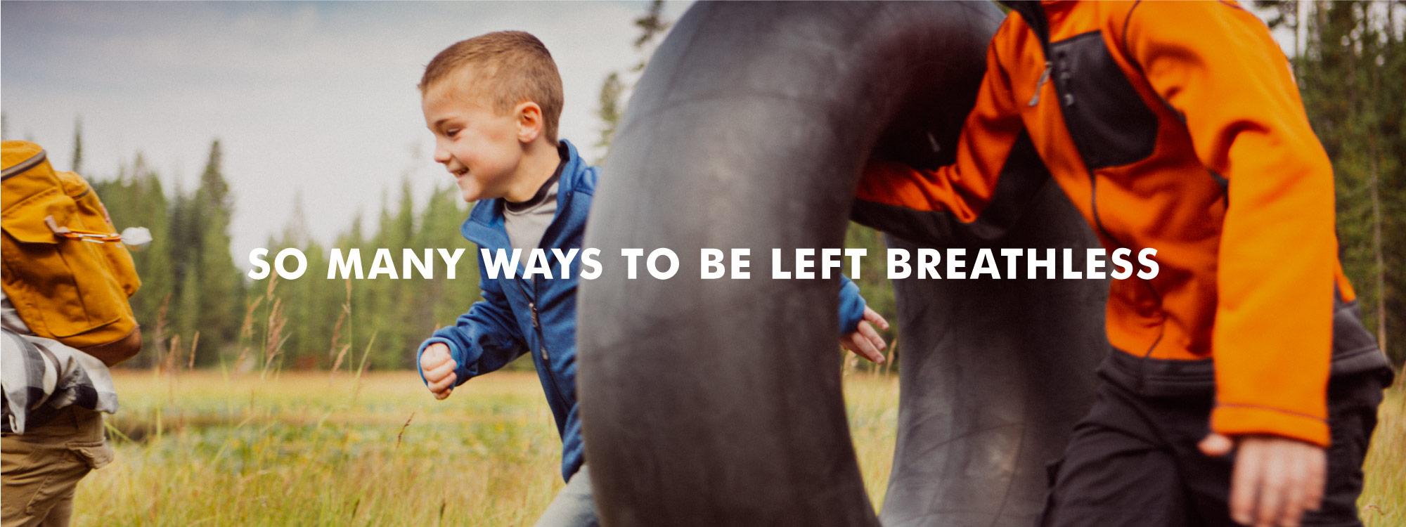 So Many Ways To Be Left Breathless